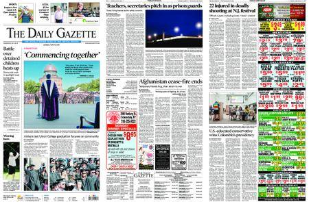 The Daily Gazette – June 18, 2018