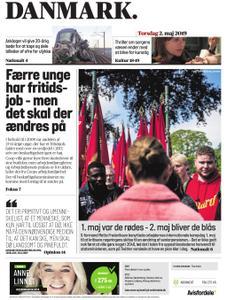 JydskeVestkysten Varde – 02. maj 2019