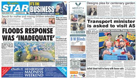 Shropshire Star Shrewsbury Edition – October 29, 2019