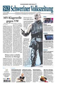 Schweriner Volkszeitung Hagenower Kreisblatt - 08. November 2018