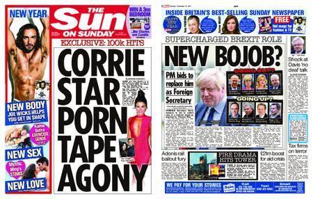 The Sun UK – 31 December 2017