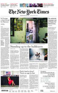 International New York Times - 21 August 2018
