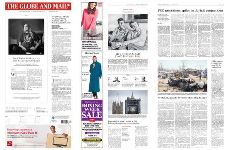 The Globe and Mail – December 30, 2019