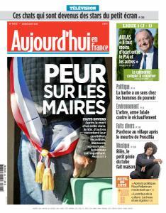 Aujourd'hui en France du Jeudi 8 Août 2019