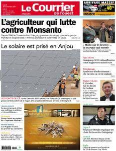 Le Courrier de l'Ouest Angers - 20 novembre 2017