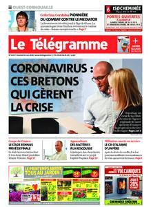 Le Télégramme Ouest Cornouaille – 06 mars 2020