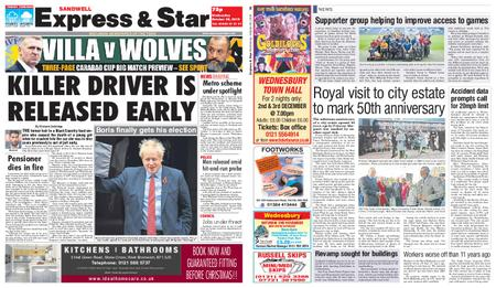 Express and Star Sandwell Edition – October 30, 2019