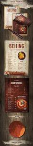 GR - Chinese Single Page A4 US Letter Food Menu 20672464