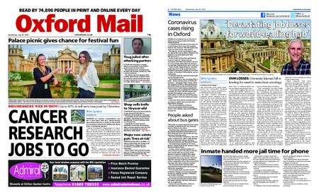 Oxford Mail – July 29, 2020