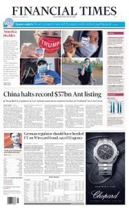 Financial Times Asia - November 4, 2020