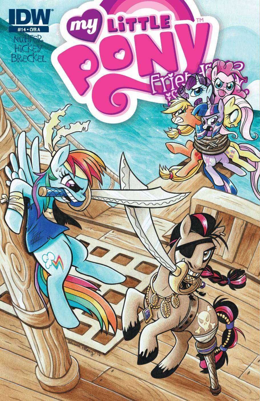My Little Pony - Friendship is Magic 014 2013 2 covers digital