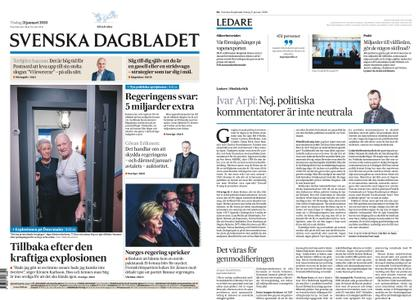 Svenska Dagbladet – 21 januari 2020