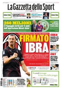 La Gazzetta dello Sport – 30 luglio 2020