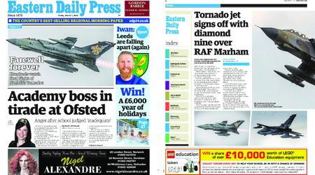 Eastern Daily Press – March 01, 2019