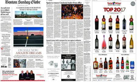 The Boston Globe – October 22, 2017