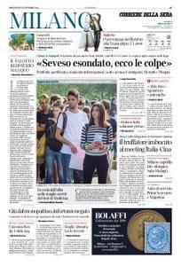 Corriere della Sera Milano – 05 settembre 2018