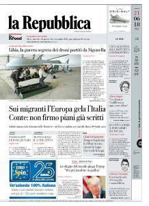 la Repubblica - 21 Giugno 2018