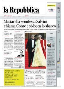 la Repubblica - 13 Luglio 2018