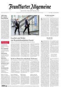 Frankfurter Allgemeine Zeitung - 12 April 2021