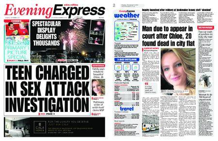 Evening Express – November 06, 2017