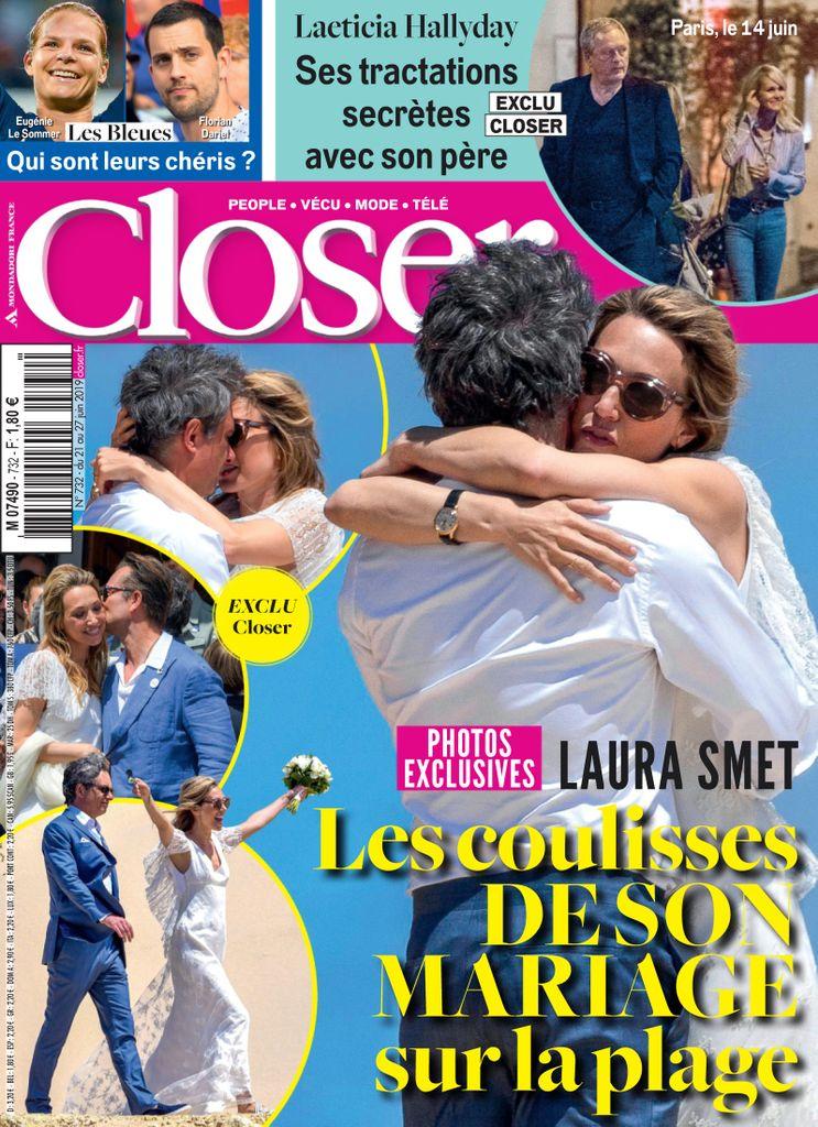 Closer N°732 Du 21 au 27 Juin 2019