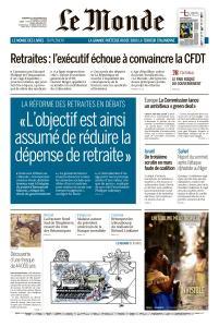 Le Monde du Vendredi 13 Décembre 2019