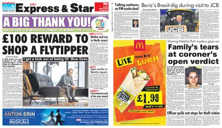 Express and Star City Edition – January 19, 2019