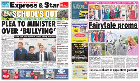 Express and Star Dudley and Wyre Forest Edition – July 19, 2019