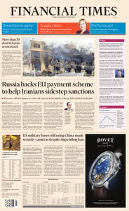 Financial Times Europe – 19 July 2019