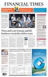 Financial Times UK - July 6, 2020