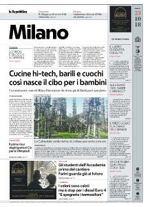 la Repubblica Milano - 23 Ottobre 2018