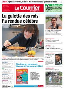 Le Courrier de l'Ouest Cholet – 05 janvier 2020