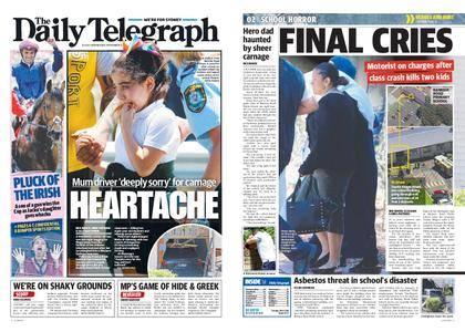The Daily Telegraph (Sydney) – November 08, 2017
