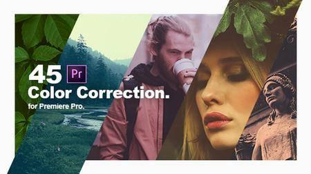 Color Correction & Color Grading Presets for Premiere Pro (Videohive)
