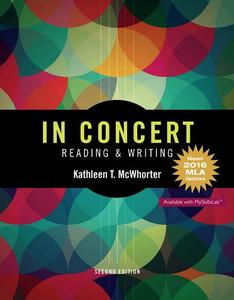 In Concert: An Integrated Approach to Reading and Writing, 2nd Edition