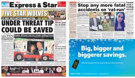 Express and Star City Edition – November 27, 2017