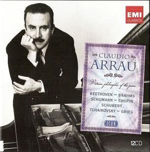 Claudio Arrau - Virtuoso Philosopher of the Piano (2011) (12CDs Box Set)
