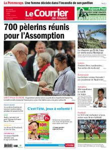 Le Courrier de l'Ouest Cholet – 16 août 2019