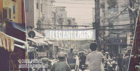 Elegant Lines Slideshow - Project for After Effects (VideoHive)