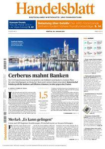 Handelsblatt - 08. Januar 2018