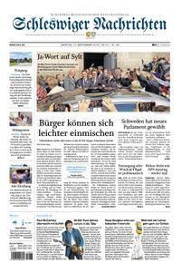 Schleswiger Nachrichten - 10. September 2018