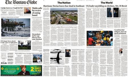 The Boston Globe – September 06, 2019