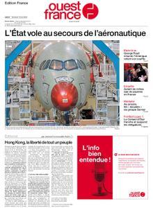 Ouest-France Édition France – 10 juin 2020