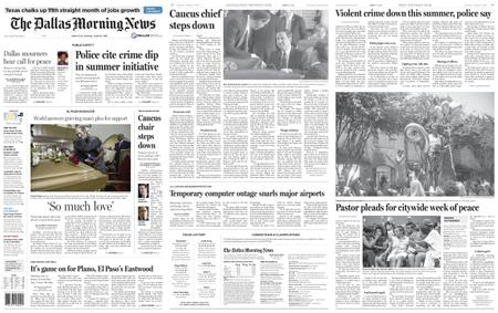 The Dallas Morning News – August 17, 2019