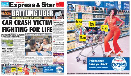 Express and Star Sandwell Edition – May 09, 2019