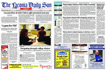 The Laconia Daily Sun – October 05, 2017
