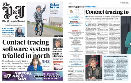 The Press and Journal Moray – May 18, 2020