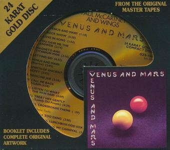 Paul McCartney & Wings - Venus And Mars (1975) [DCC 24 KT Gold CD, 1994] (Repost)