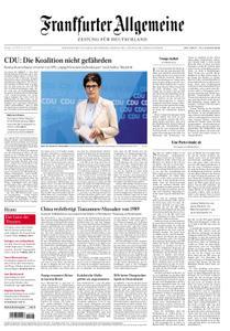 Frankfurter Allgemeine Zeitung F.A.Z. - 03. Juni 2019