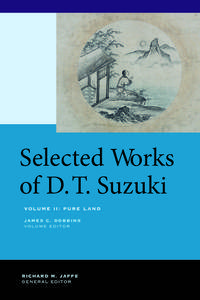 Selected Works of D.T. Suzuki, Volume II: Pure Land (repost)